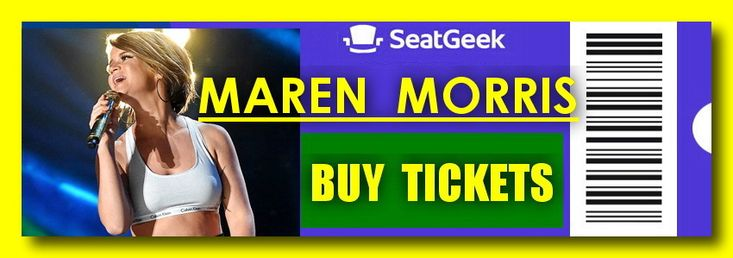 Maren Morris - The easiest way to buy concert tickets (seller – SeatGeek). 2018 Tour dates - Tickets and Tour Schedule