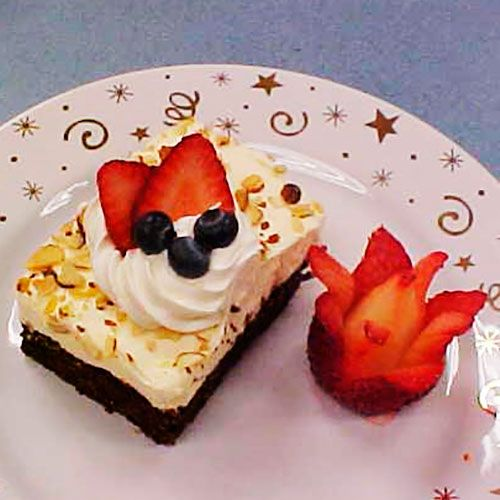 Berries+&+Cream+Brownie+Squares+-+The+Pampered+Chef®