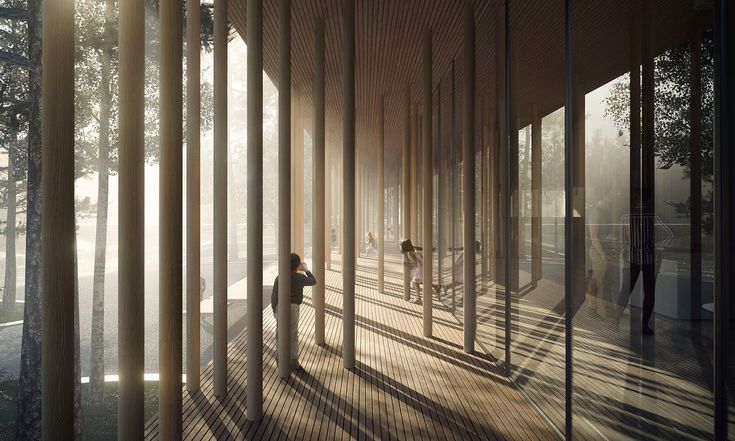 """Finnskogens Hus"" by emerging Copenhagen practice Lipinski Lasovsky Johansson (LLJ) was the winner of the Museum of Forest Finn Culture competition in Svullrya, Norway. A total of 203 proposals were submitted, making it Norway's fourth largest architecture competition.Reflecting its..."