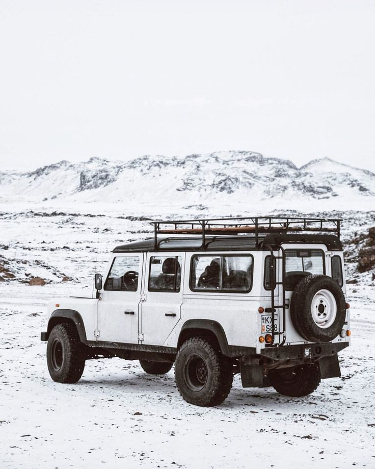 "upknorth: "" To some a blank place on the map is a useless waste; to others, the most valuable part. - Aldo Leopold Iceland's official vehicle shot by @btonevibes 