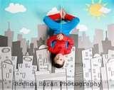Super hero photo shoot - what fun!