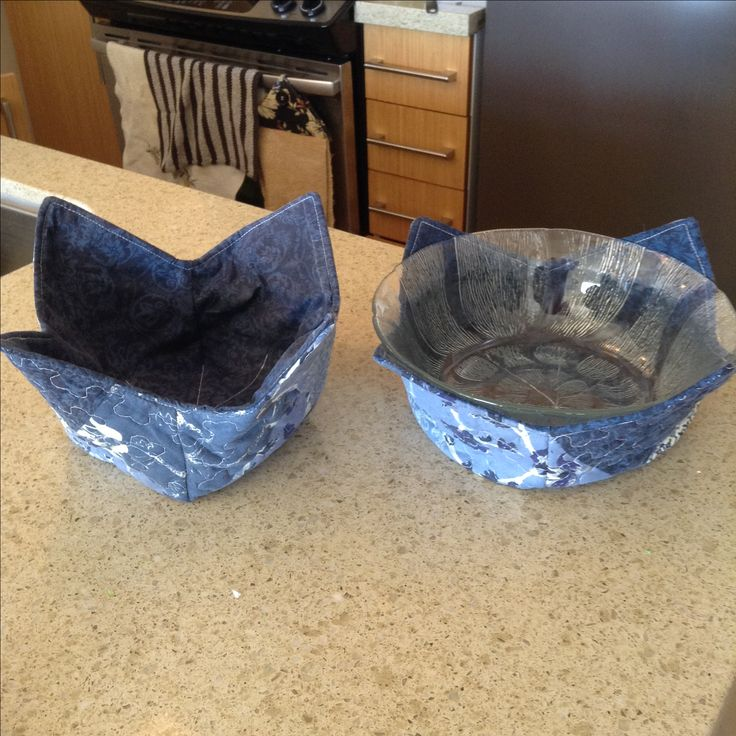 Bowl protecters -Nov 18, recycled pillow shams
