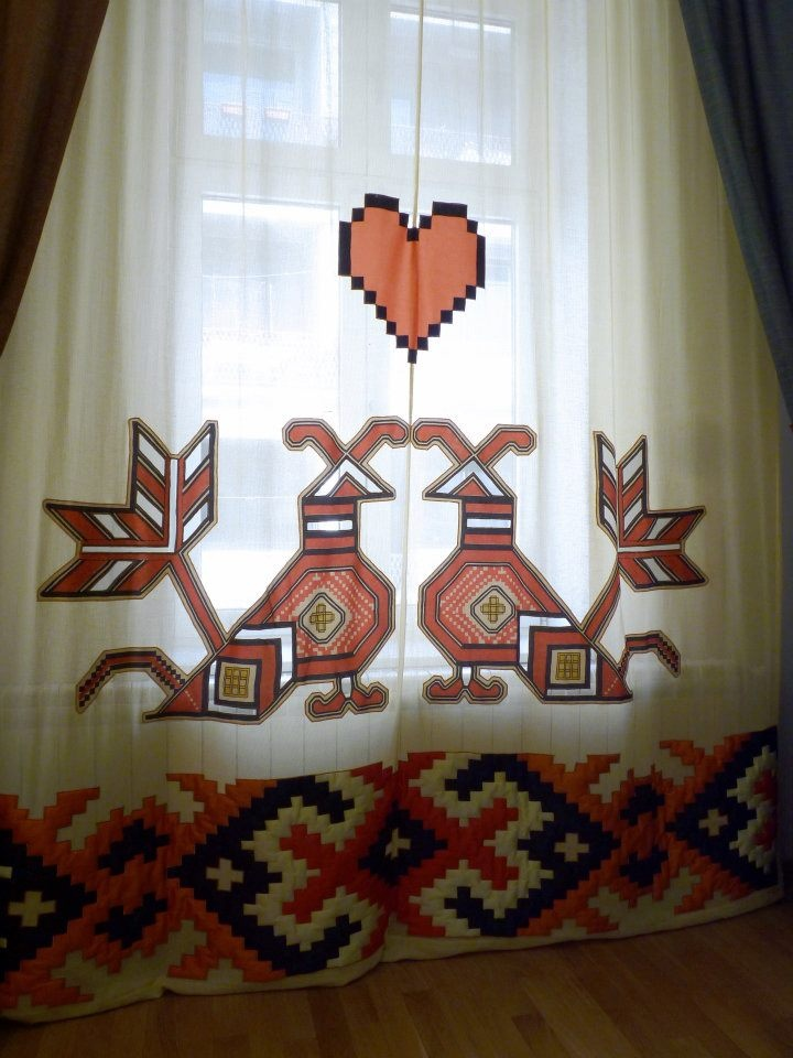 care.cutare curtain design #Romania #RomanianDesign