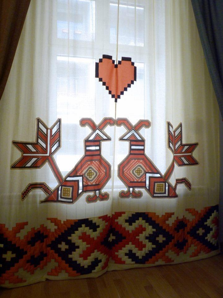 care.cutare curtain design #Romania #RomanianDesign