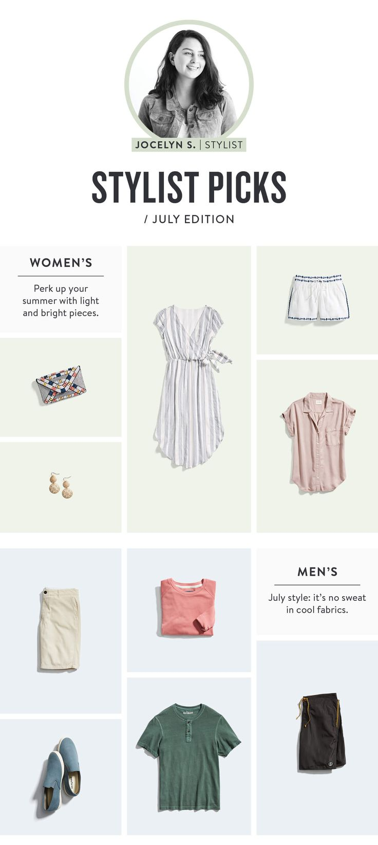 Stitch Fix Stylist Picks July  the dress is awesome! simple but flattering