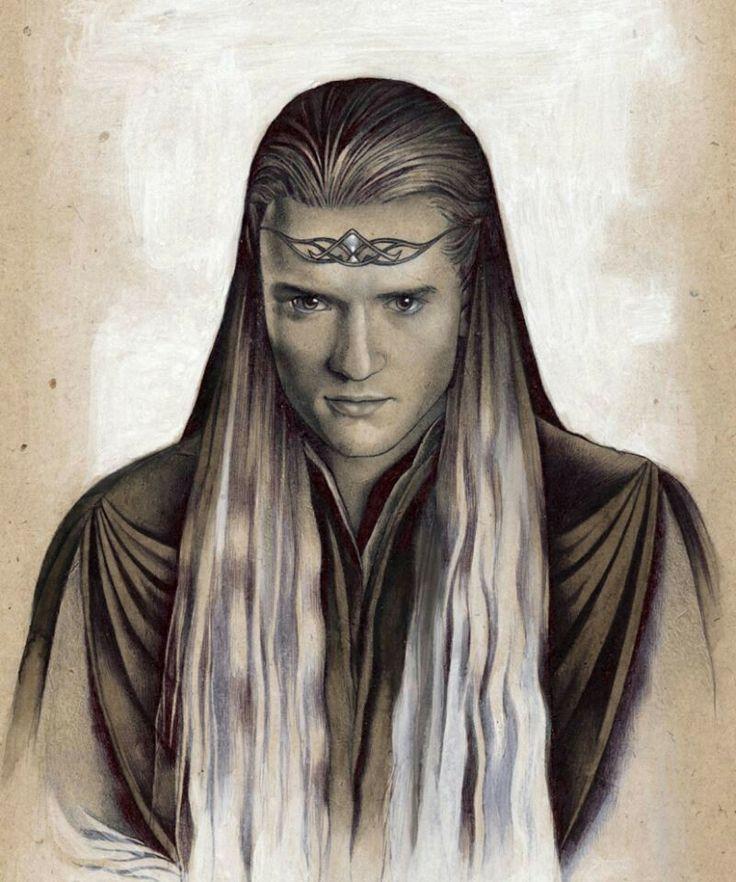 Legolas Greenleaf   Средиземье, Эльфы, Иллюстрации