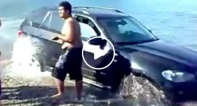 Vai levar o seu BMW X5 para a praia?? Pense bem…