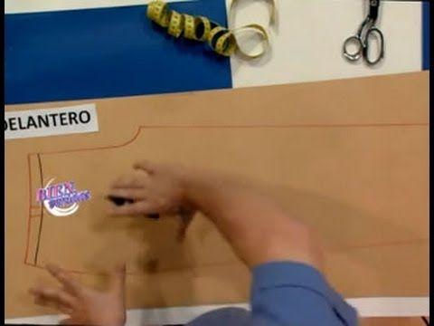 Hermenegildo Zampar - Bienvenidas TV - Explica el trazado del pantalón de dama de Jean - YouTube