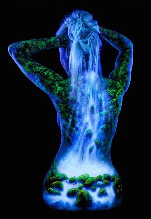 30 Female Body Painting Ideas