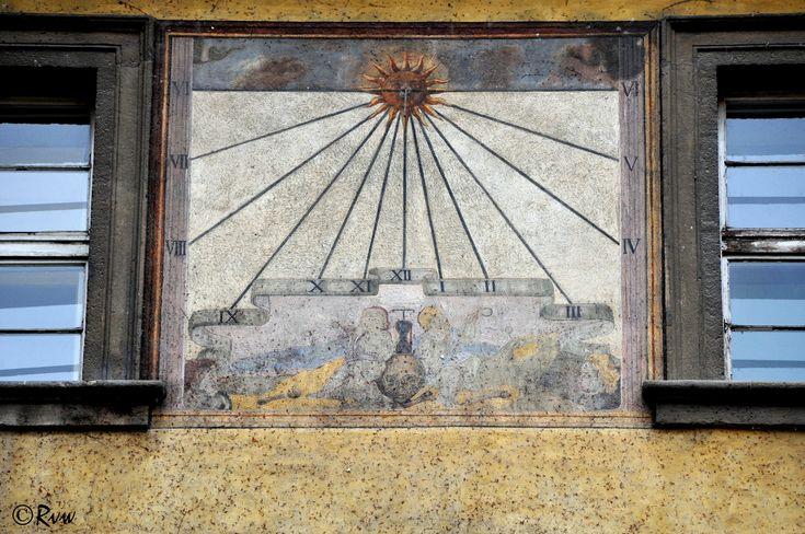 https://flic.kr/p/22Y4PPL | Sundial (1662) - Klementinum Hospodářský dvůr | Commissary courtyard / Cour de l'économat Staré Město Prague 1  Thank you for your comments & Fav.!