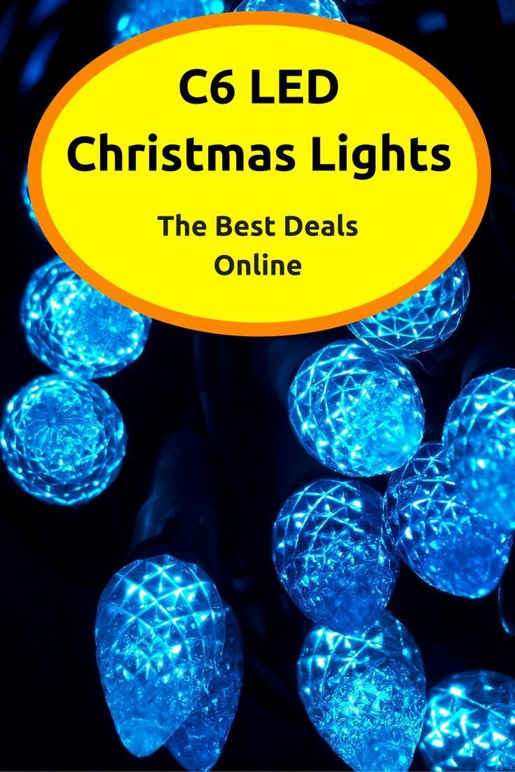 22 Best Images About C6 Led Christmas Lights On Pinterest