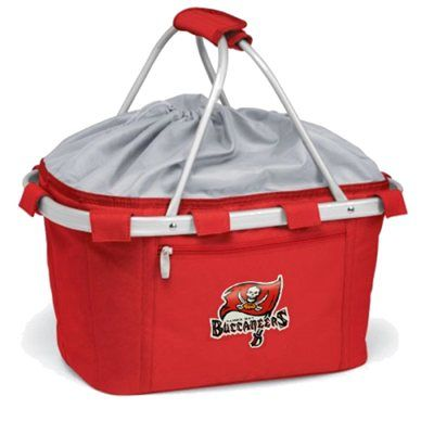 What's in your (picnic) bag? If you're headed to a crucial Tampa Bay Bucs game, or just headed to the beach this Memorial Day, pack all your treats in this insulated red picnic basket.