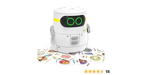 REMOKING STEM Educational Robot Toy,Dance,Sing, Guess Card ...