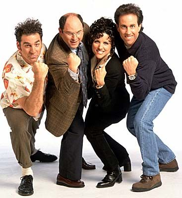 Seinfeld (1989-1998).  The show about nothing had many great moments.  One of my favorite shows!