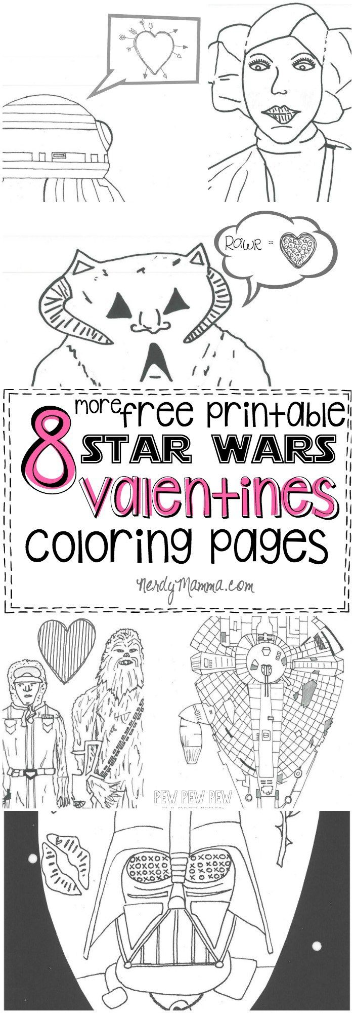 These free printable Star Wars
