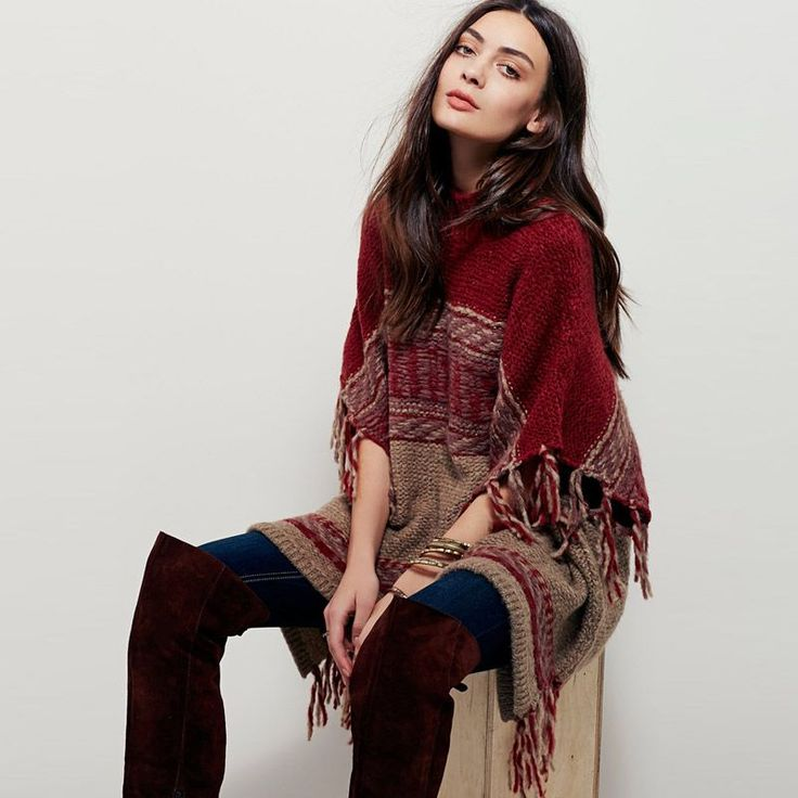 Cheap poncho sweater, Buy Quality cardigan sweater directly from China sweater women Suppliers: BOHO PEOPLE Winter Cardigan Sweater O Neck Batwing Sleeve Tassels Loose Outerwear Red Knitted Shawl Poncho Sweaters Women