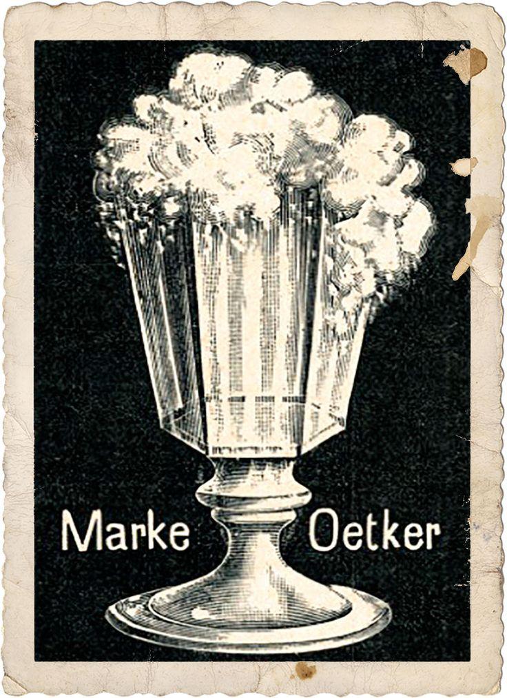 Das erste Dr. Oetker-Logo, 1891, Historische Sammlung Dr. Oetker