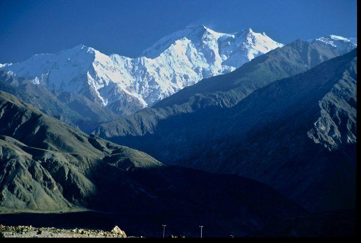 Mont Nanga Parbat - Vallée de Hunza /  Pakistan - jcp 1992