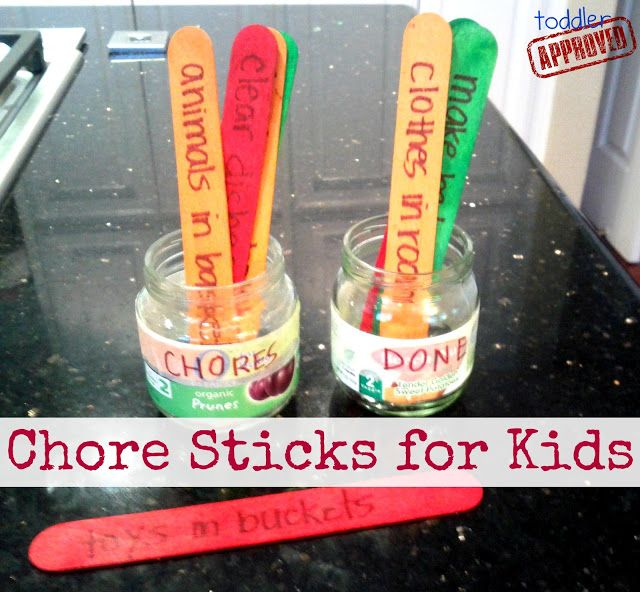Toddler Approved!: Bedtime Battles and Chore Sticks for Kids {Kid's C...