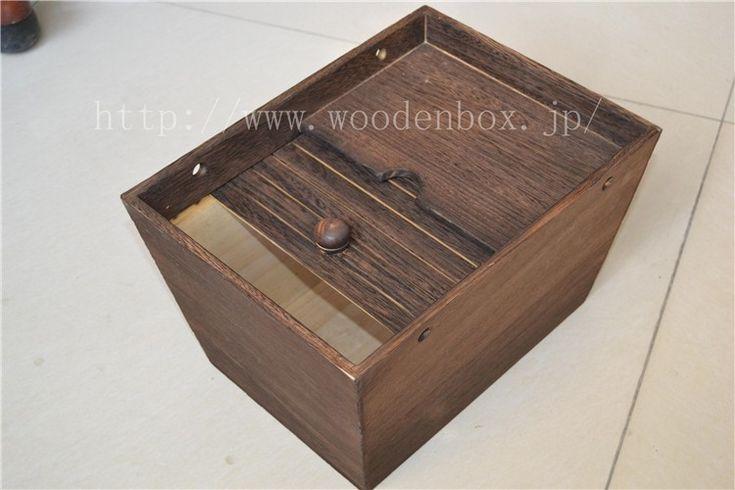 木製ライスストッカー 総桐米櫃