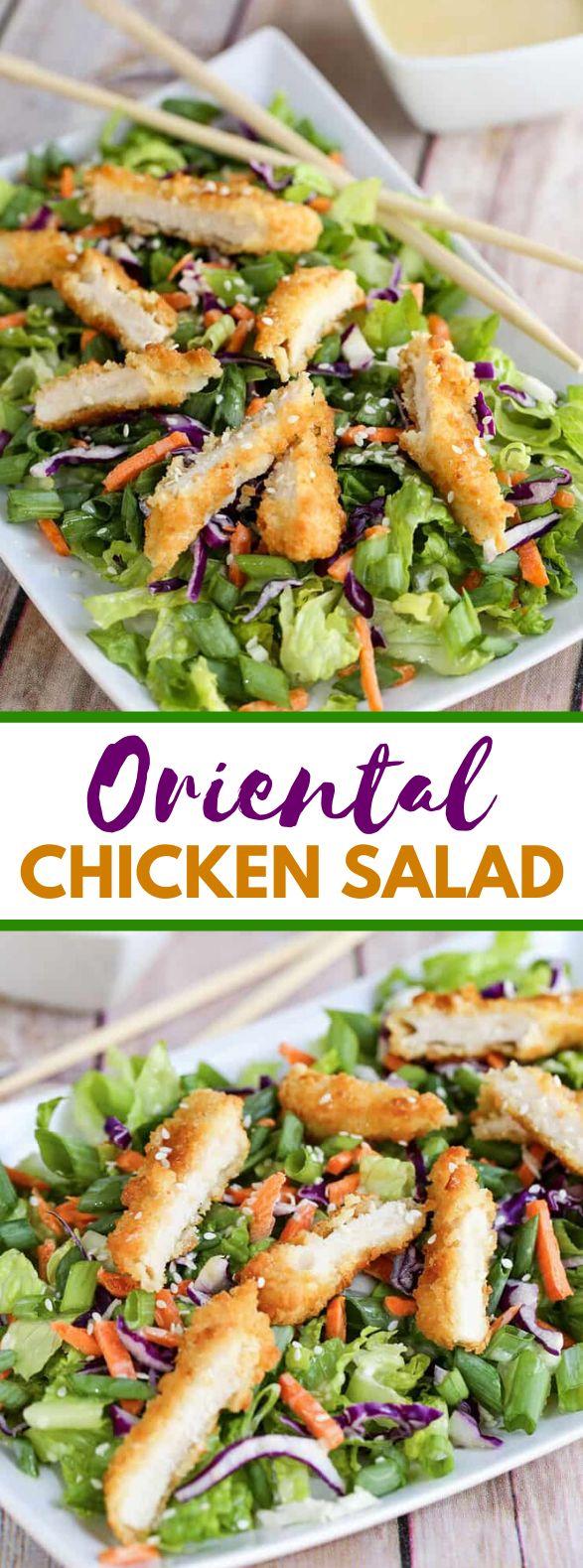 Oriental Chicken Salad #healthy #homemade #chickensalad #salad #diet  Oriental Chicken Salad #healthy #homemade #chickensalad #salad #diet  #CHICKEN #chickensalad #Diet #Healthy #Homemade #Oriental #Salad