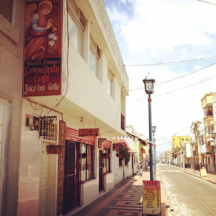 Serendipity Cafe in Cotacachi, Ecuador