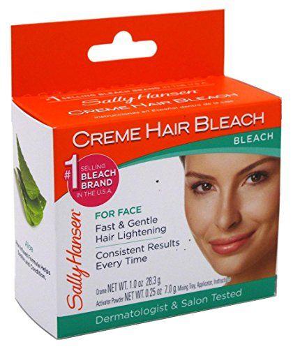 Крем-осветлитель для волос на лице от Sally Hansen – простое и эффективное средство, которое позволит добиться желаемого эффекта в кратчайшие сроки. Придаст нежеланной растительности тон кожи, в результате чего волосы просто не будет видно. Процедура безболезненна и безопасна. http://www.drugstorerussia.com/dekorativnaya-kosmetika/pomady-bleski-i-balzamy-dlya-gub/15212/