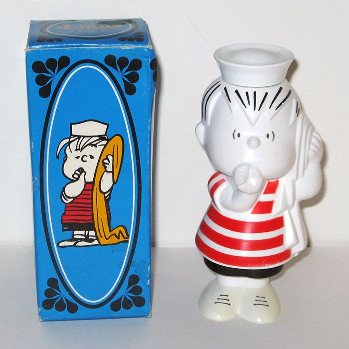 Buy Linus Avon Shampoo Bottle plus more Peanuts and Snoopy collectibles at CollectPeanuts.com.