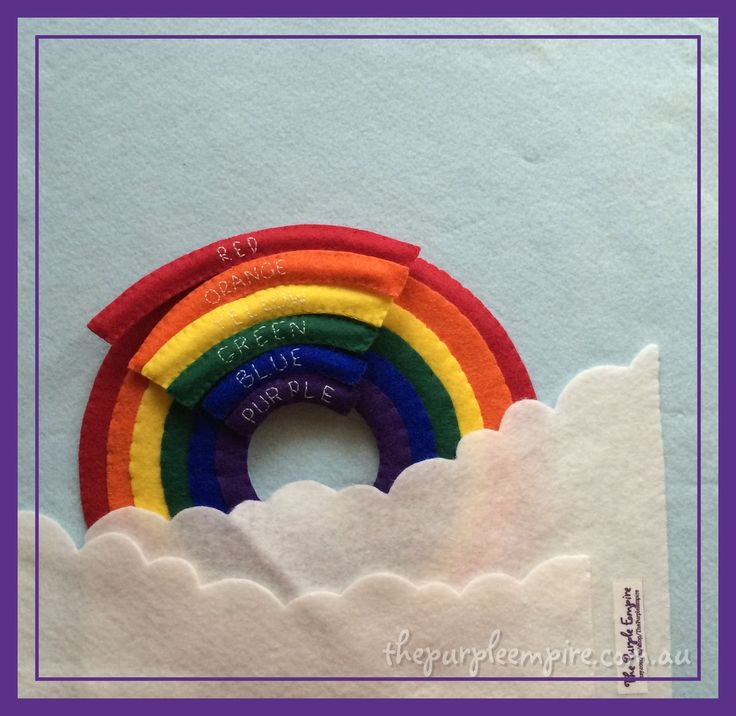 Help your little one learn their colours with this colour-matching rainbow themed quiet book page. The puzzle pieces attach with a press stud, and...