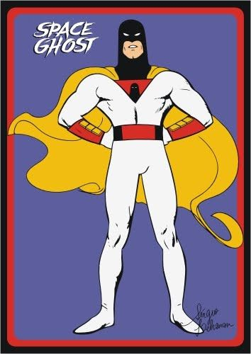 Hanna Barbera World: ENG - Space Ghost
