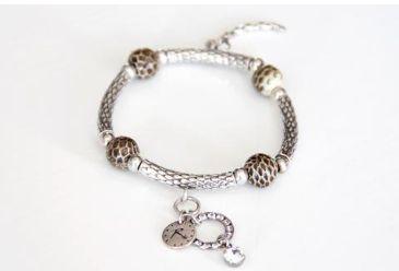 REMINISCENCE PARIS Python & Silver Head & Tail Bracelet Purchase: $150.00 CAD