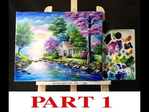 2151 best acrylic painting video images on Pinterest