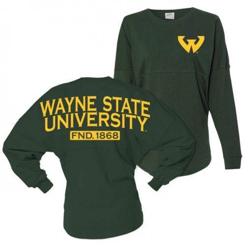 Wayne State Team Spirit Jersey At Campus Den
