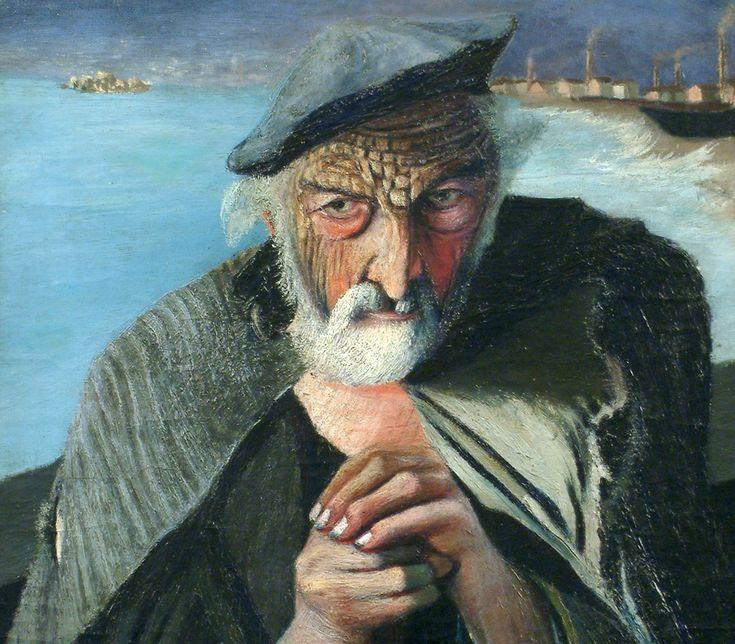 Csontváry Kosztka Tivadar - The Old Fisherman