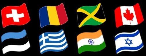 Flags of the World Emoji