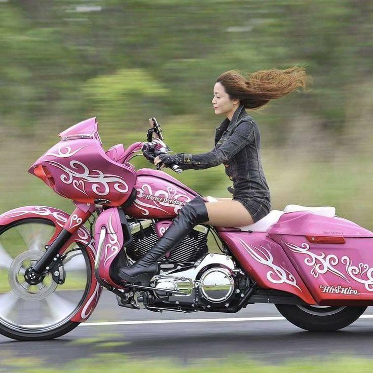Would be rad for the missus. #harleydavidsonbaggerhotbikes