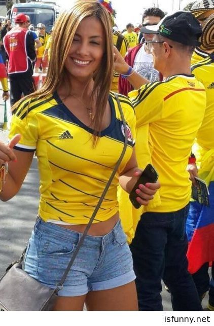 Colombia Fans World cup so awesome isfunny.net