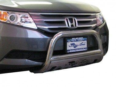 11-17 HONDA ODYSSEY FRONT BULL BAR BUMPER PROTECTOR GRILL GUARD PL S/S - 2012 - ODYSSEY - Honda - Cars