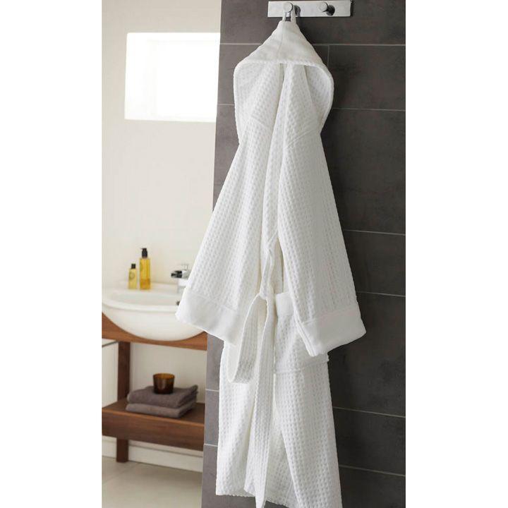 Peignoir de bain en pur coton Ritz-Carlton