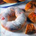 Roscón de Reyes tradicional. La reposteraEva Arguiñano nos muestra la receta para elaborar un delicioso Rosco de Reyes.