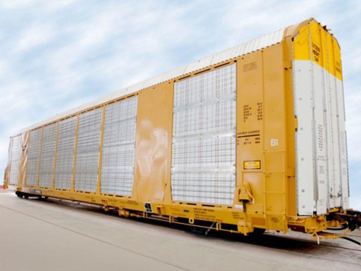 Convertible multi-deck automotive wagon launched - Railway Gazette