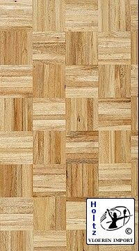 Mozaiek Eiken  Zeer mooi mozaiek parket van massief eiken, onbehandeld  - Kleur: Naturel afgewerkt - Standaard (Rustiek) - 8mm  NU: Prijs per m2 voor: € 24,95 excl. BTW
