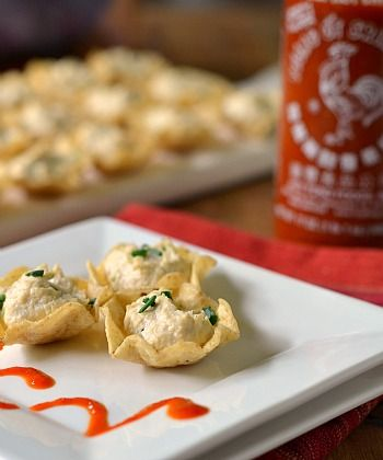 Christmas Eve! Easy Crab Rangoons (uses Scoops instead of wonton wrappers) ooo look, that's my sauce in the background!