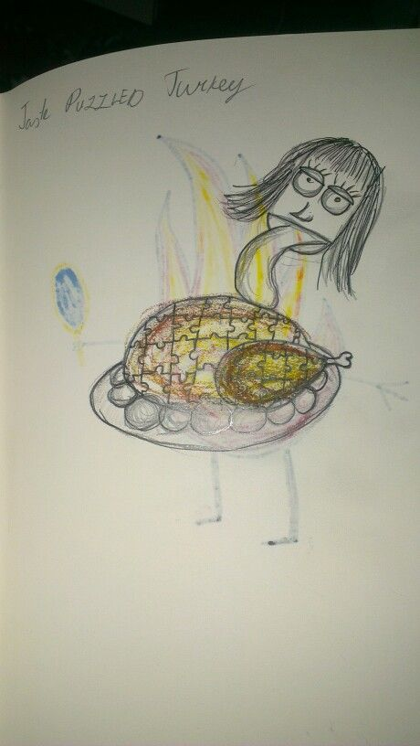 Taste puzzled turkey