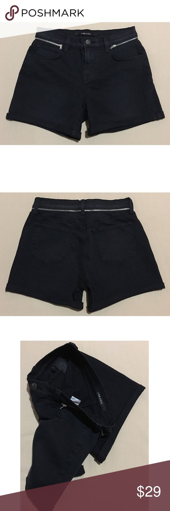 J BRAND Alley Cat Black Shorts $189 J BRAND Alley Cat Black Shorts             (Those Are The Really Expensive Ones In The  J Brand Store!).             Limited Edition         This Is A Sample   • 100% - Authentic  • Fabric - 92% Cotton 6% Elastomultiester  2% Elastane.  • Color - Black   • Retail - $189  • Size - 25       We Ship Same Day Or Next!        Check Out My Other Items For Exclusives Deals On Clothing Up To 60% Off Retail Price!        Contact Me If You Have Any…