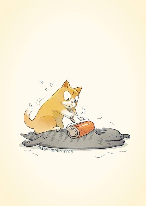 """My Cats' Daily"" by Bibo X* Blog/Website | (http://www.weibo.com/bibox)"