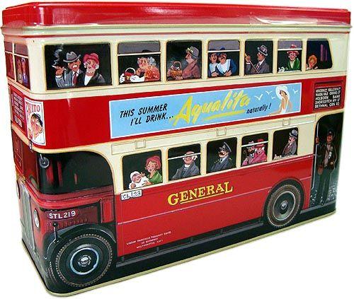 ウォーカー アソートビスケット ロンドンバス