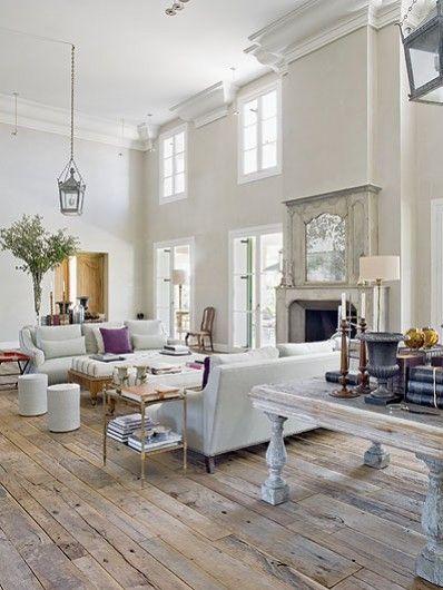 Virlova Style: [Interior] Una villa de estilo español con toques de mansión de campo