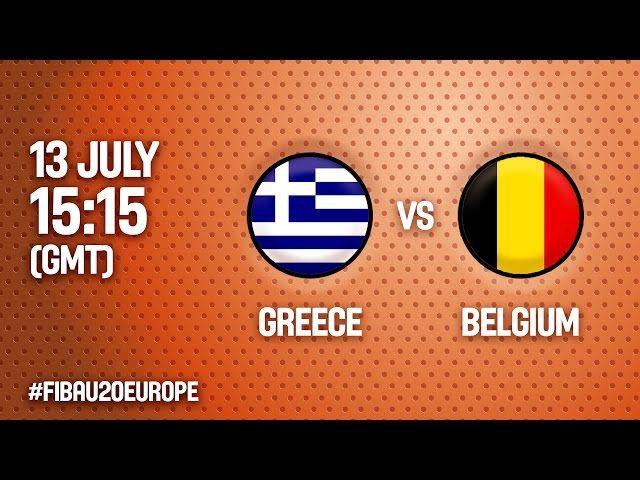 Ευρωπαϊκό Πρωτάθλημα Νέων Γυναικών | Live  ο αγώνας ΕΛΛΑΔΑ - Βέλγιο  (18:15, 13.07.2016) (4η αγωνιστική  - Ματοσίνιος, Πορτογαλία)