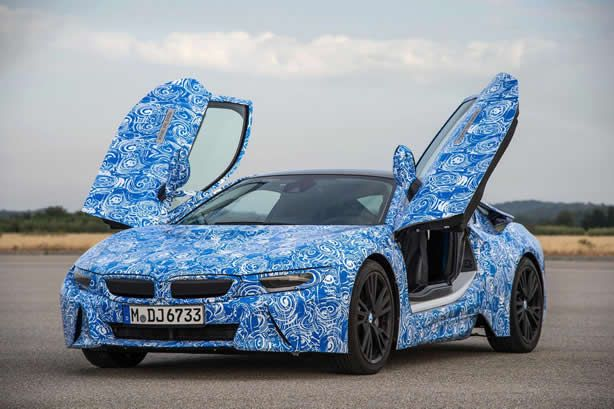 BMW releases 2014 i8 specs